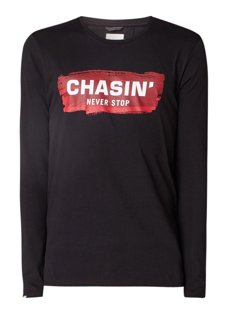 Chasin' Dyker longsleeve met logo