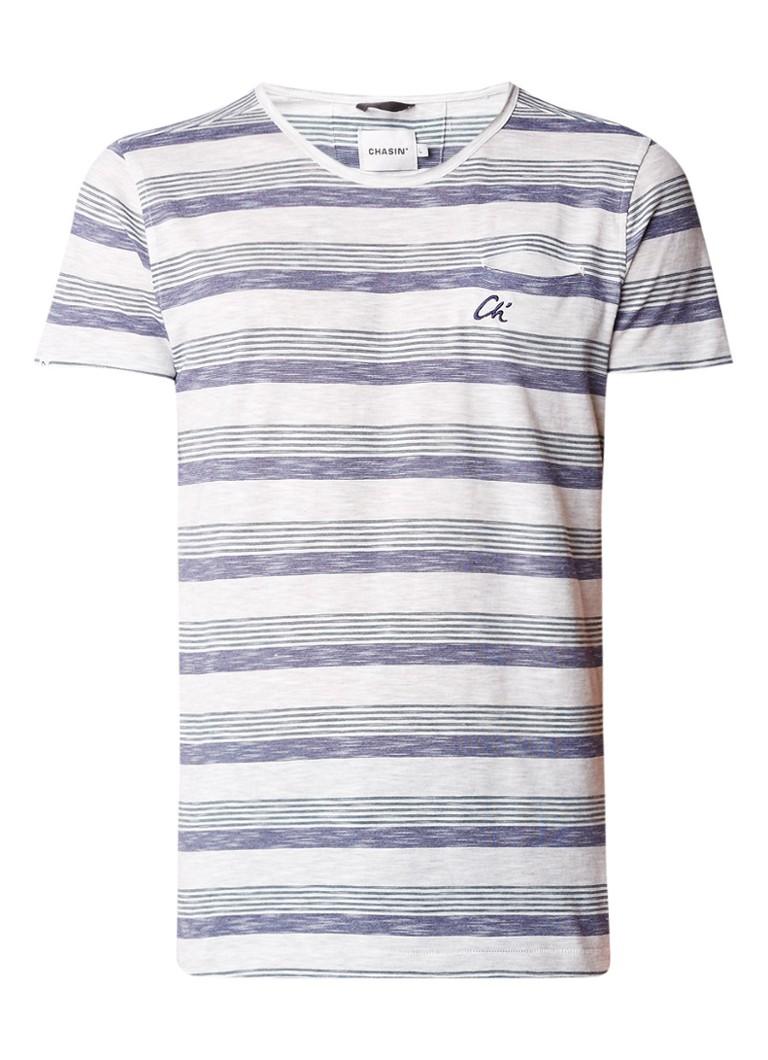 Chasin Universal Wide T-shirt met streepdessin