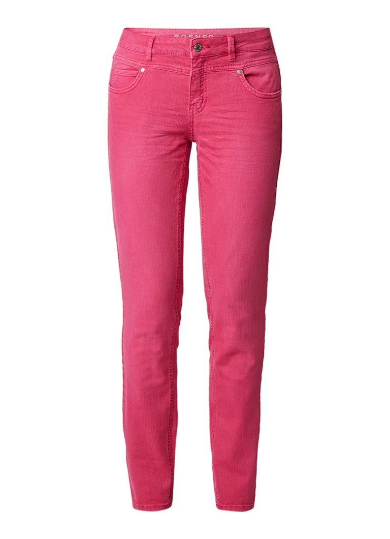 Rosner Antonia mid rise cropped skinny jeans