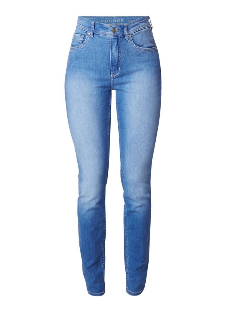 Rosner Audrey skinny fit jeans met lichte wassing