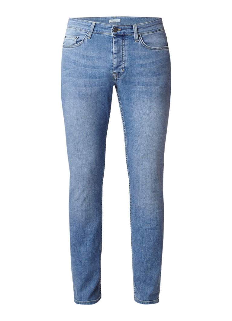 Van Gils Willet low rise slim fit jeans met faded look