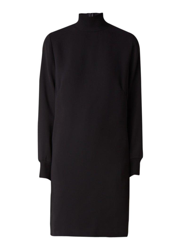 Someday Coltrui jurk van crêpe zwart