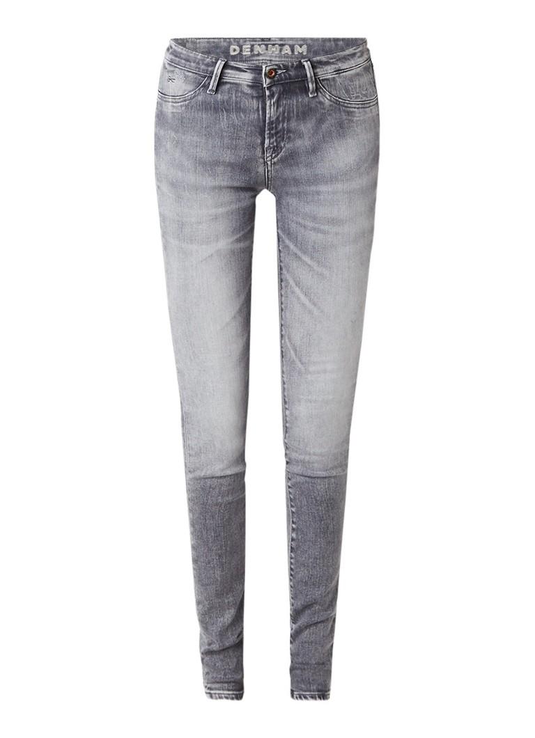 Denham Spray super tight fit jeans met faded look