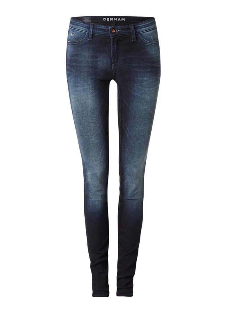 Denham Spray super tight fit skinny jeans met faded look