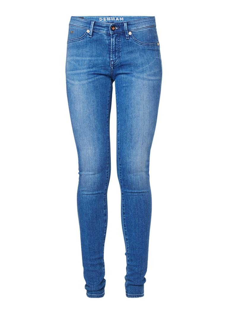 Denham Spray low rise skinny fit jeans