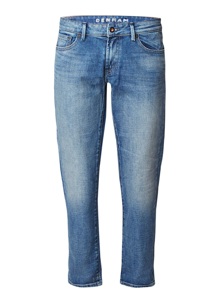 Denham Monroe high rise wide 7 8 fit jeans