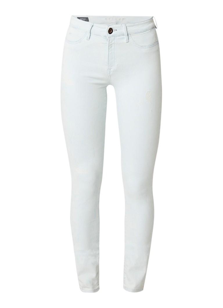 Denham Spray on skinny jeans met destroyed look