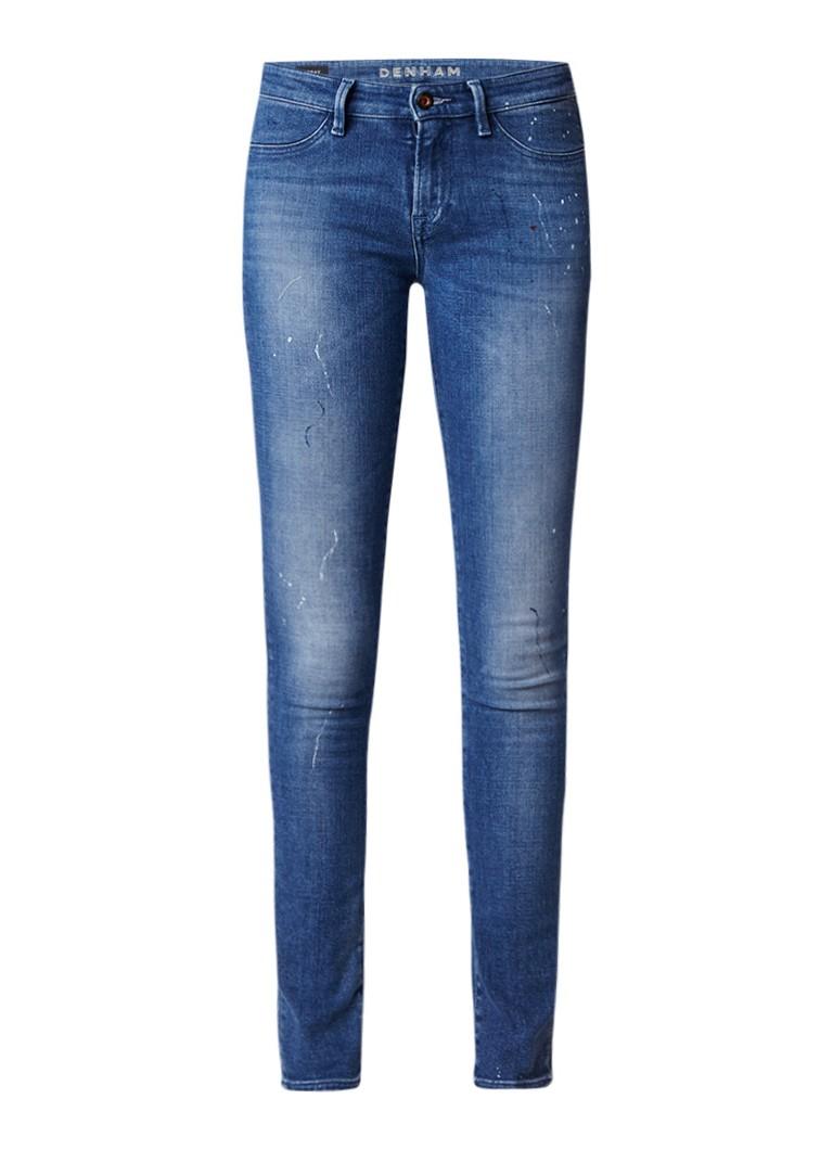 Denham Spray super tight fit jeans met medium wassing