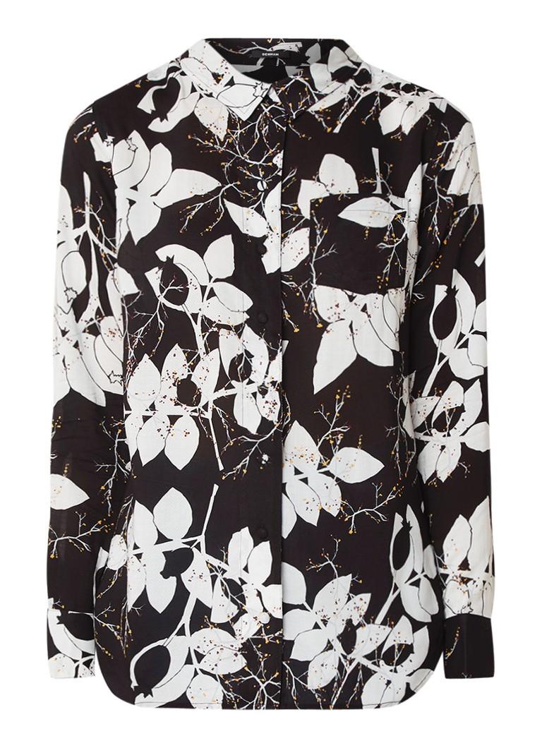 Denham Adventure blouse met bloemendessin