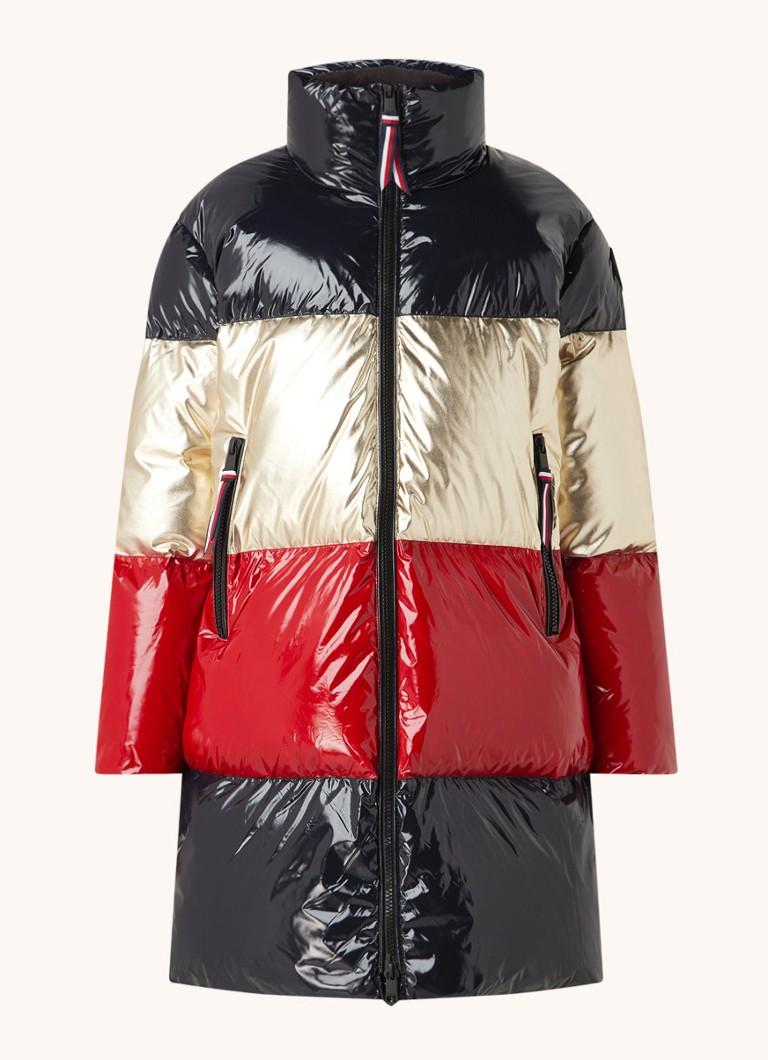 Tommy Hilfiger Gewatteerde jas met donsvulling en lakfinish