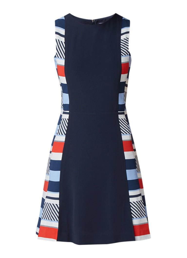 Tommy Hilfiger Kemmie mouwloze mini-jurk met streepdessin donkerblauw