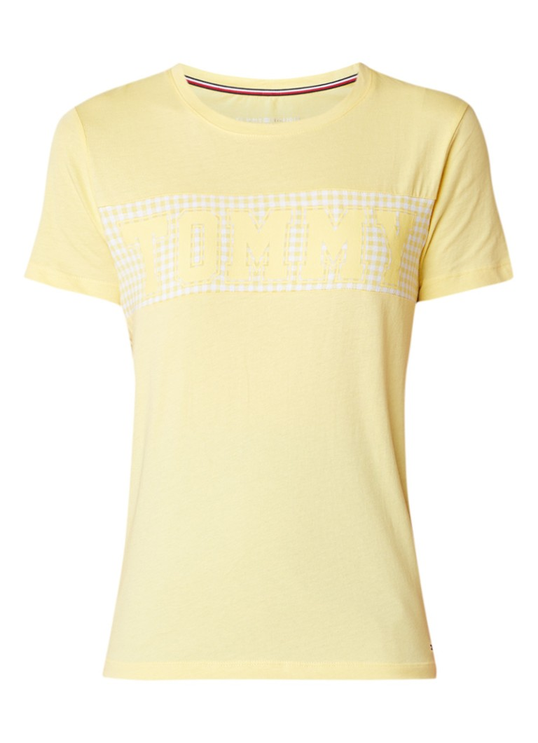 Tommy Hilfiger Cira T-shirt met logo en bijpassende sjaals