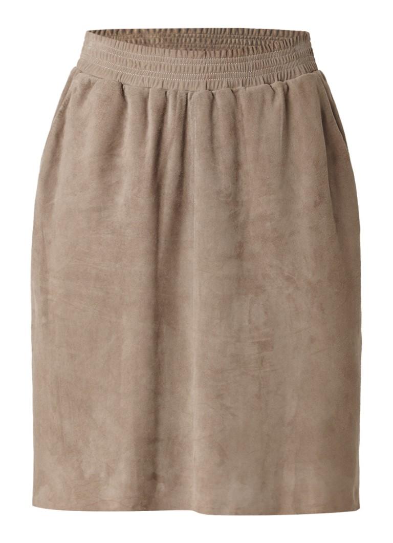 ARMA Pira rok van suède met elastische tailleband