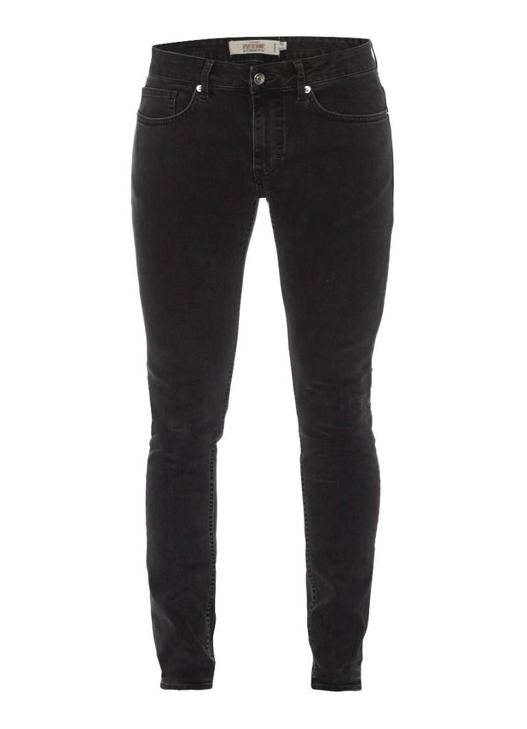 TOPMAN Spray-on skinny jeans in grijs