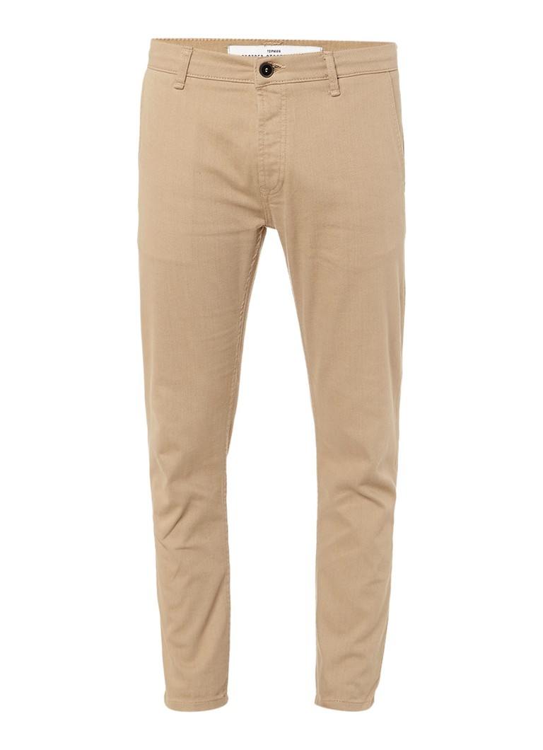 TOPMAN Cropped mid rise slim fit