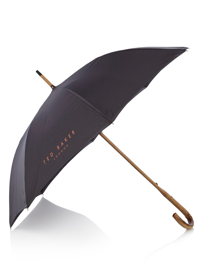 Ted Baker Stormer paraplu met logoprint
