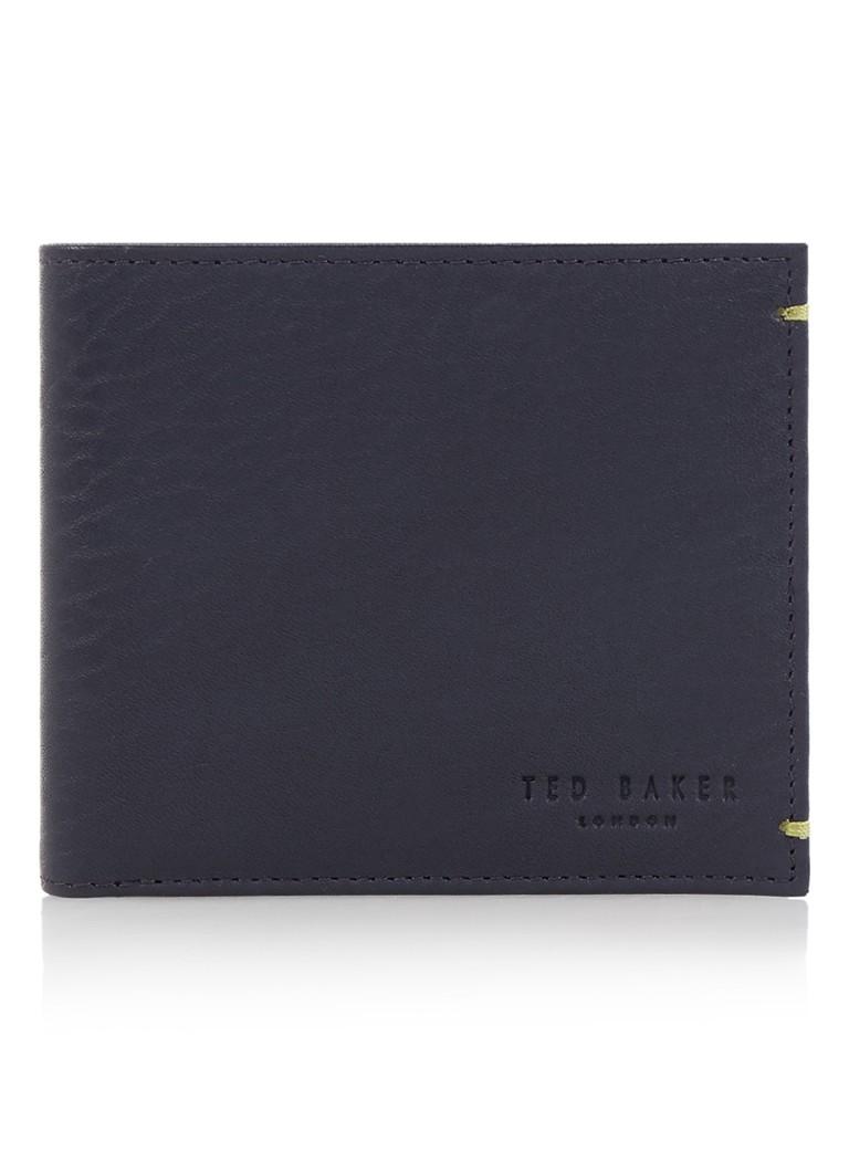 Ted Baker Rester portemonnee van leer met binnenkant van suède