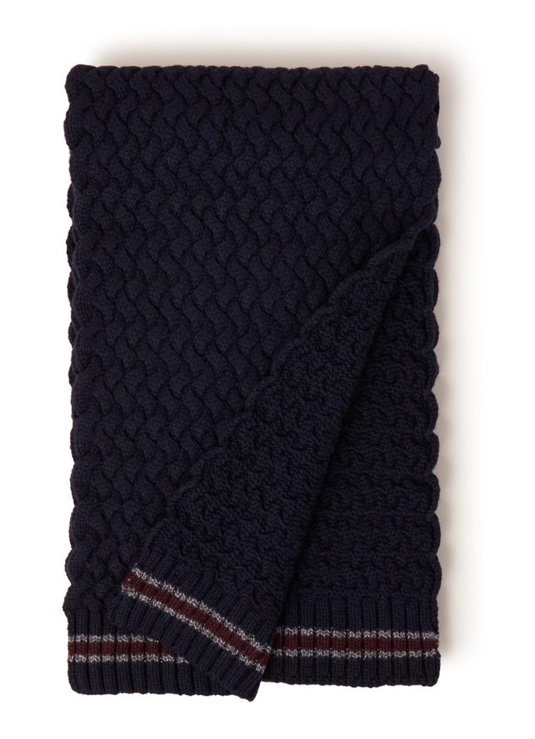 Ted Baker Sennen sjaal in kasjmierblend 180 x 25 cm