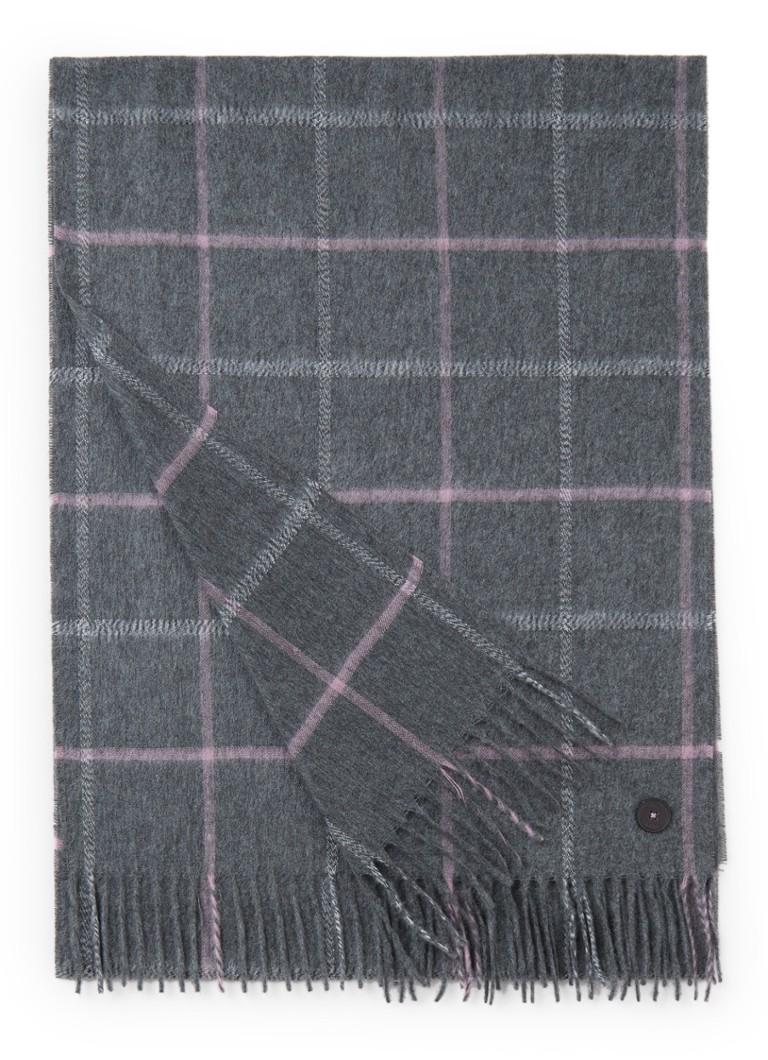 Image of Ted Baker Halwil sjaal met ruitdessin 190 x 35 cm