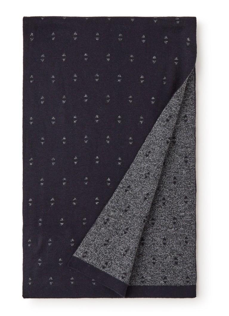 Image of Ted Baker Sjaal in kasjmierblend met dessin 180 x 25 cm