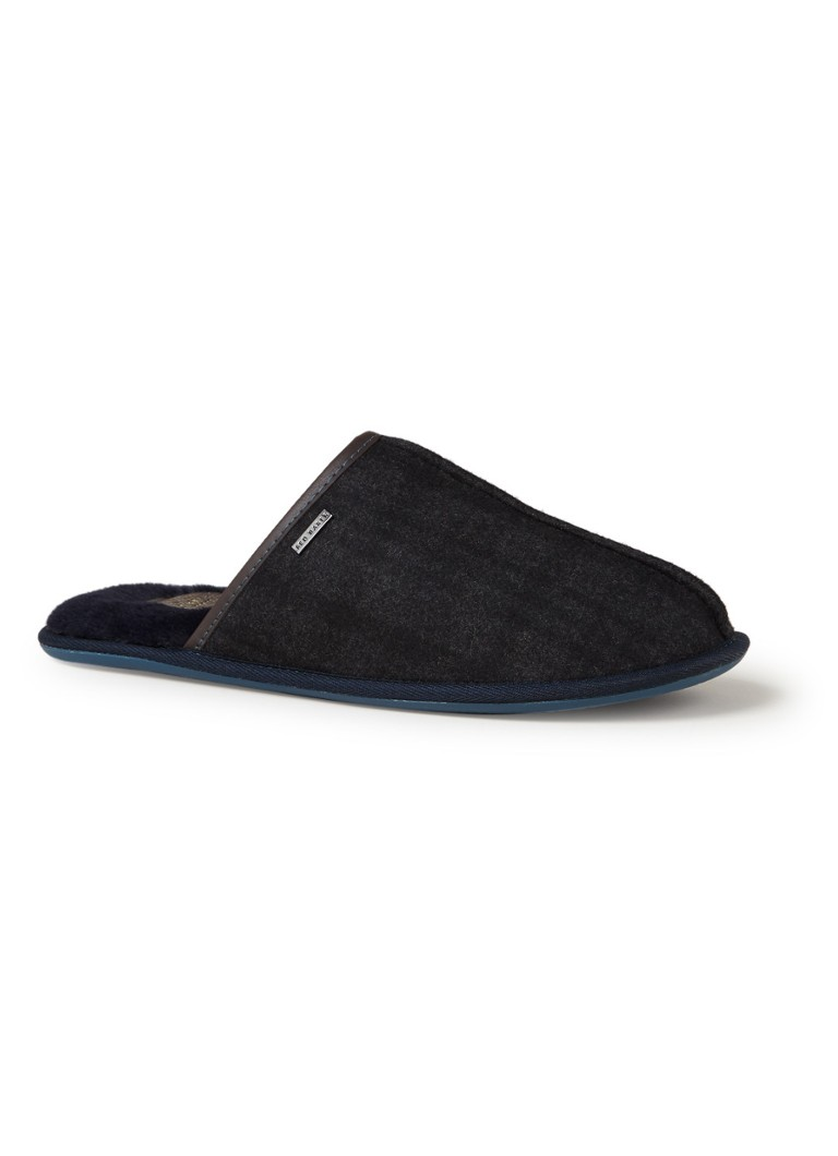 Ted Baker Ayntin pantoffel in wolblend