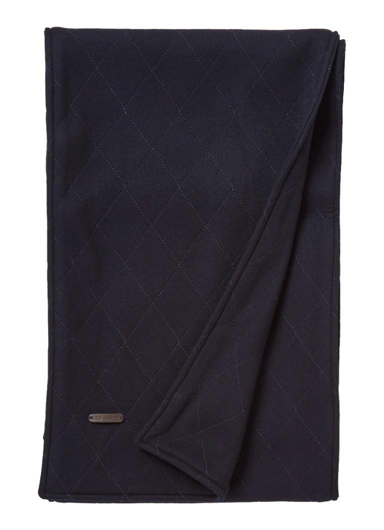 Image of Ted Baker Nigel doorgestikte sjaal 180 x 30 cm
