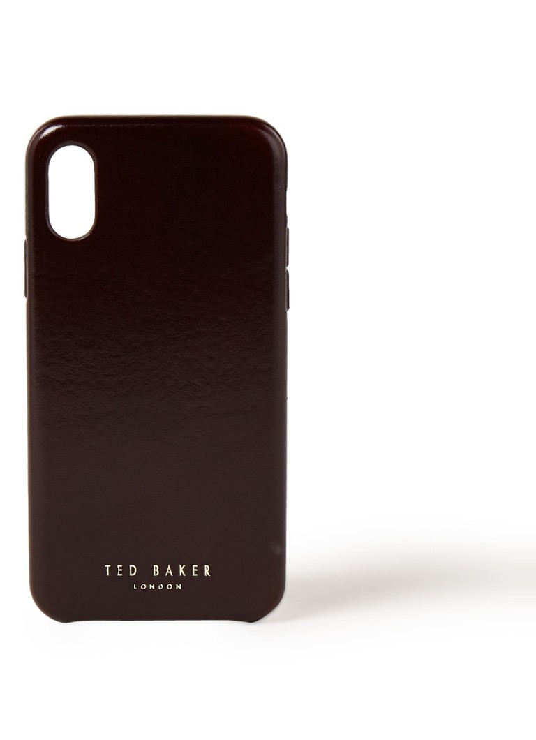 Ted Baker MIdoca telefoonhoes van leer voor iPhone X/XS