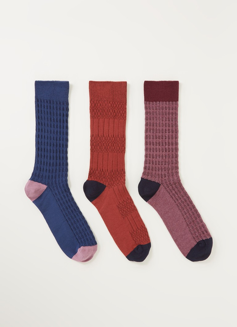 Ted Baker Socksix sokken in -pack