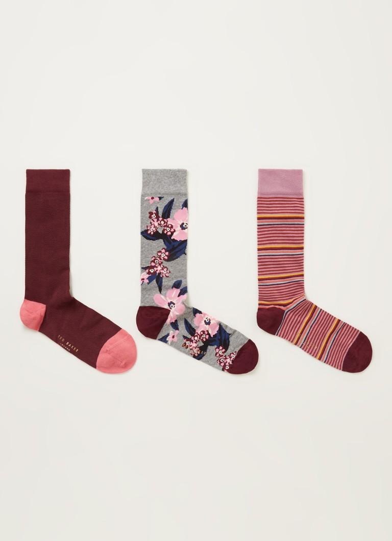 Ted Baker Socktwo sokken met print in -pack