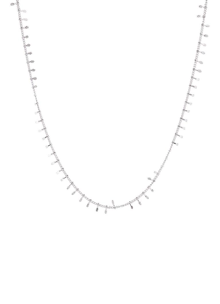Sieraden Les Cleias Ketting met zilverkleurige plating Zilver