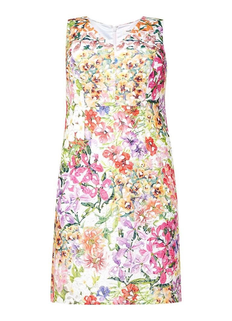 Studio 8 Frieda jurk met bloemendessin multicolor
