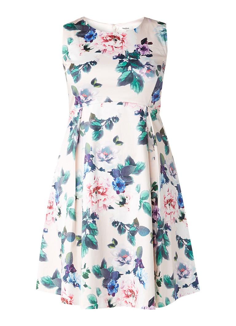 Studio 8 Adalyn A-lijn jurk met bloemendessin lichtroze
