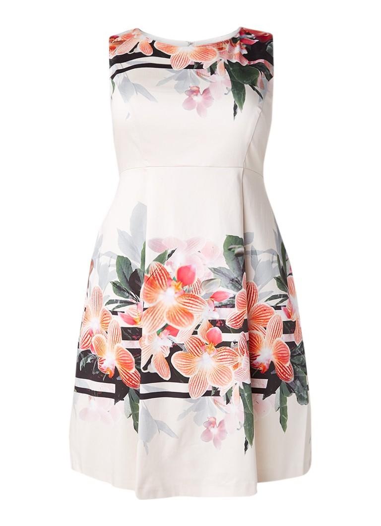 Studio 8 Peyton A-lijn jurk met bloemendessin lichtroze