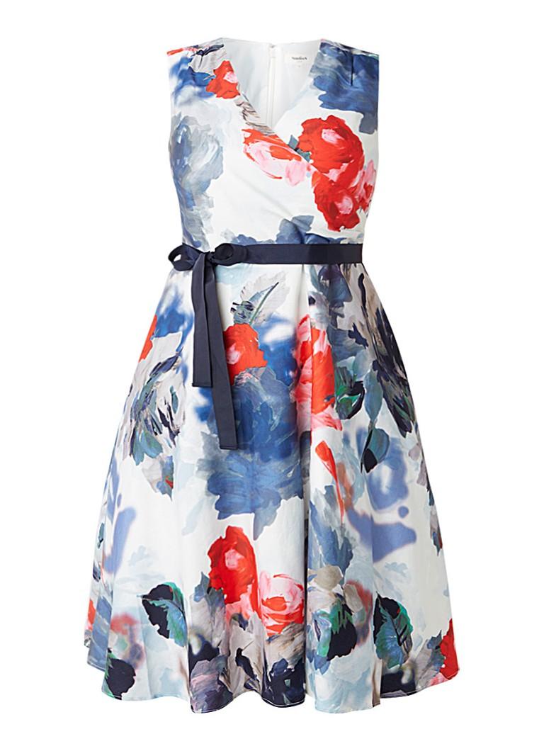 Studio 8 Quinn A-lijn jurk met bloemenprint multicolor