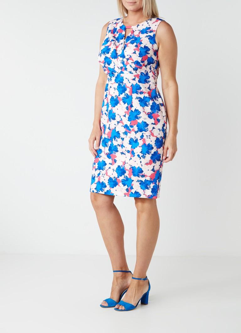 Studio 8 Lorelei gebloemde midi-jurk met overslag en keyhole multicolor