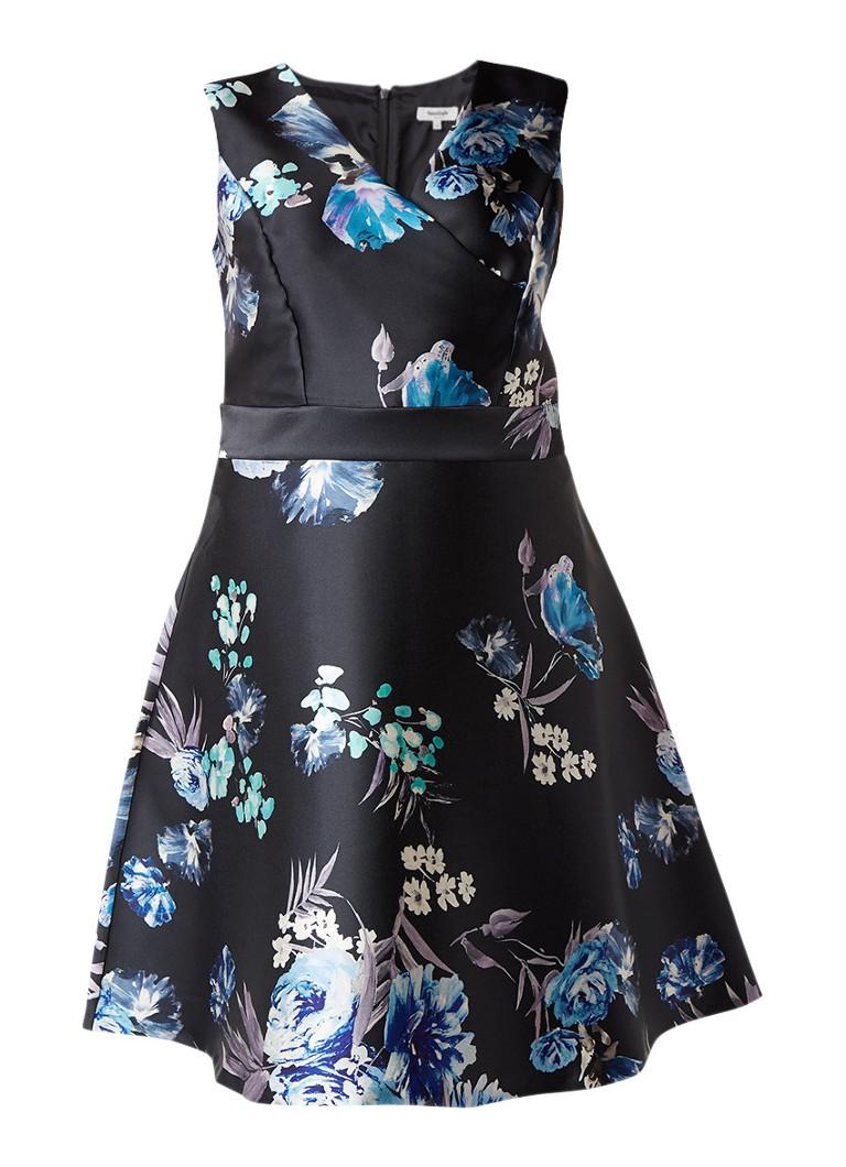 Studio 8 Emelia a-lijn jurk met bloemendessin multicolor