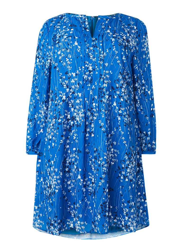 Studio 8 Emmie tuniekjurk met bloemendessin blauw