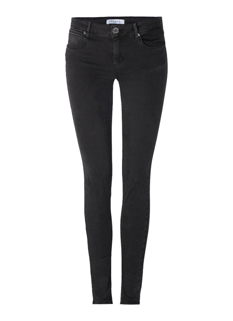 Sandro Mid rise skinny jeans in