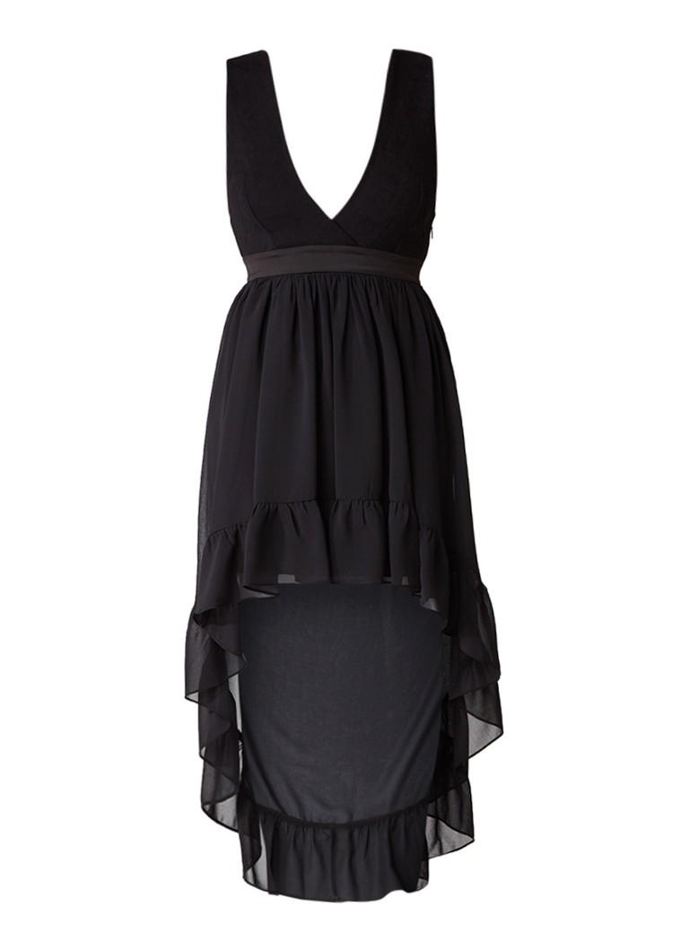 Sandro Asymmetrische mouwloze jurk