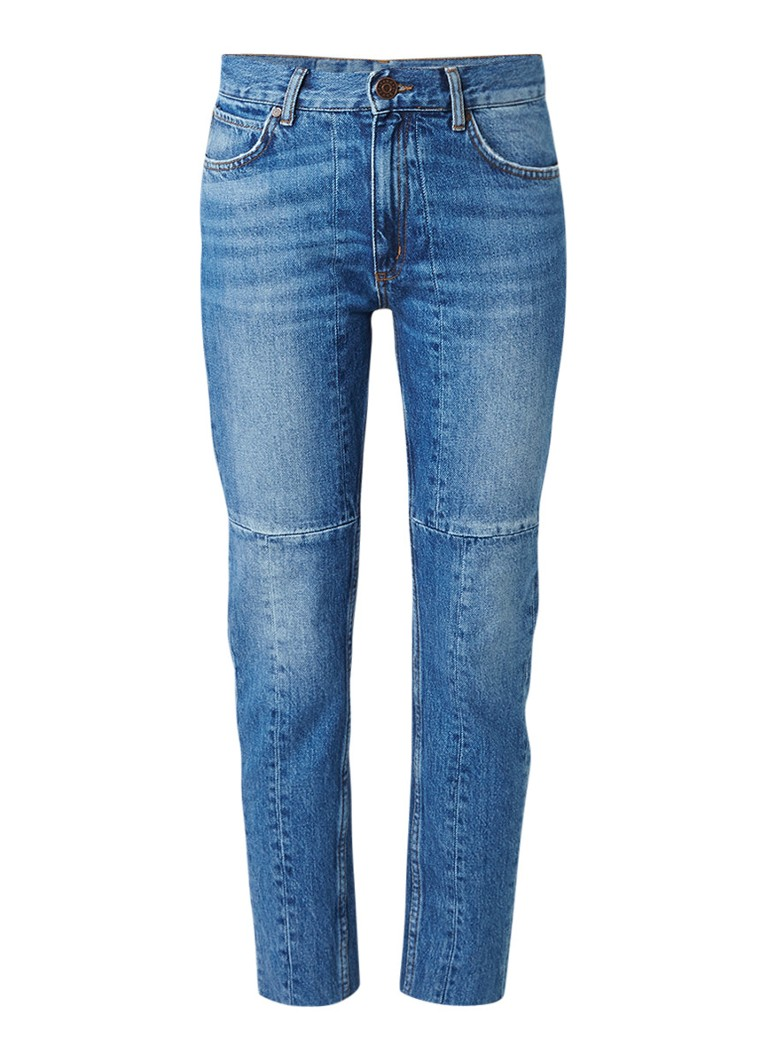 Sandro High rise 7 8 jeans met medium wassing