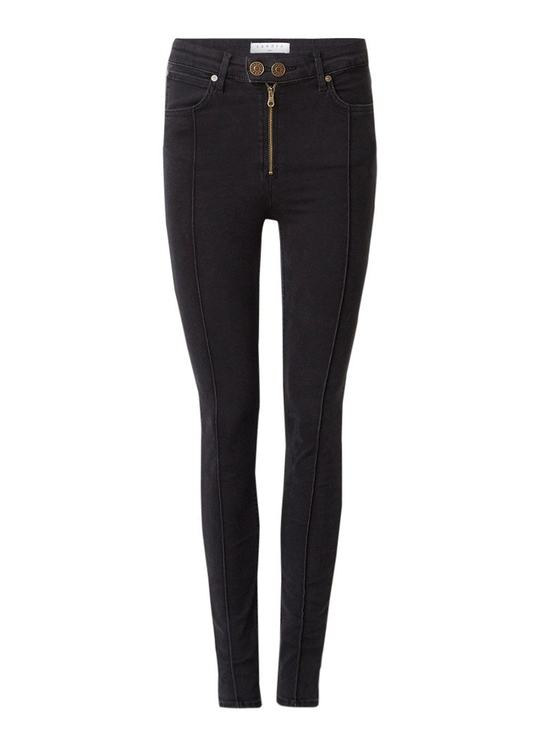Sandro High rise slim fit jeans