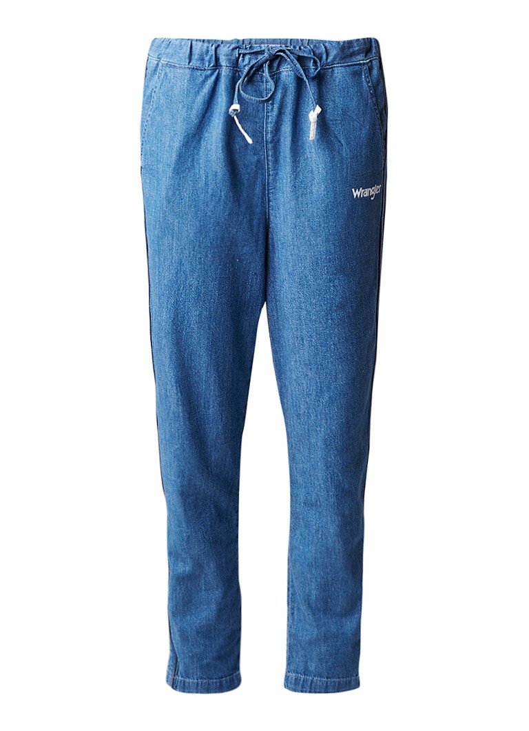 Wrangler Retro active low rise loose fit jeans met donkere wassing
