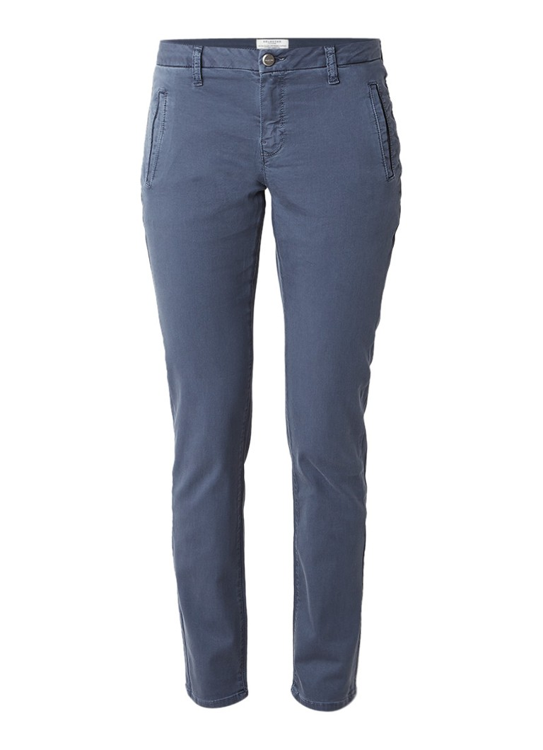 Selected Femme Ingrid mid rise tapered fit chino