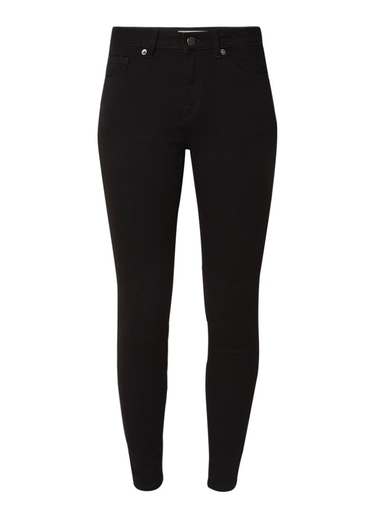 Selected Femme Ida mid rise cropped skinny jeans