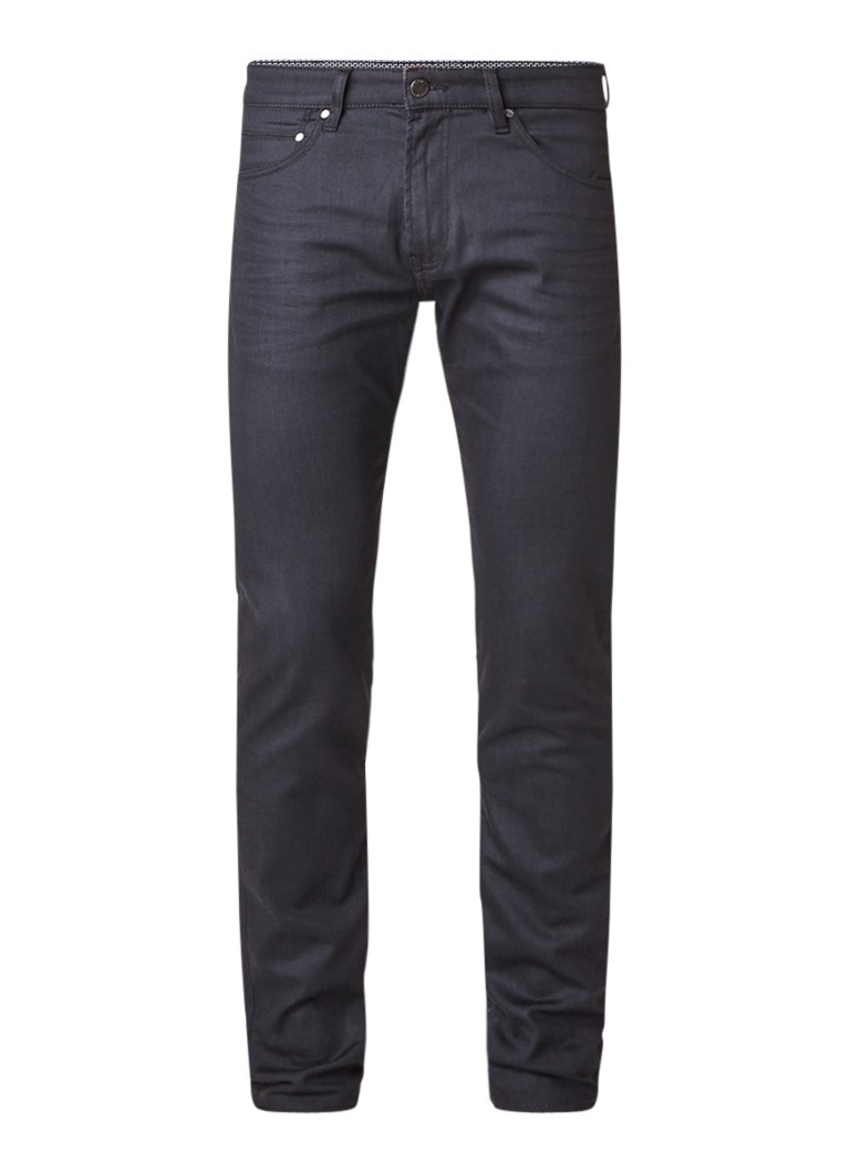 Ted Baker Printo mid rise tapered fit jeans met stretch