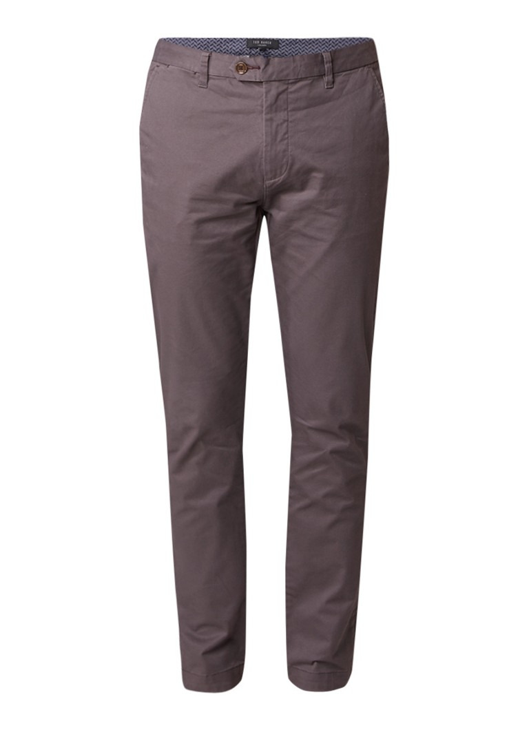 Ted Baker Tapcor tapered fit chino met stretch
