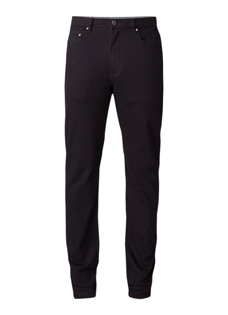 Ted Baker Senoire straight fit jeans met comfort stretch