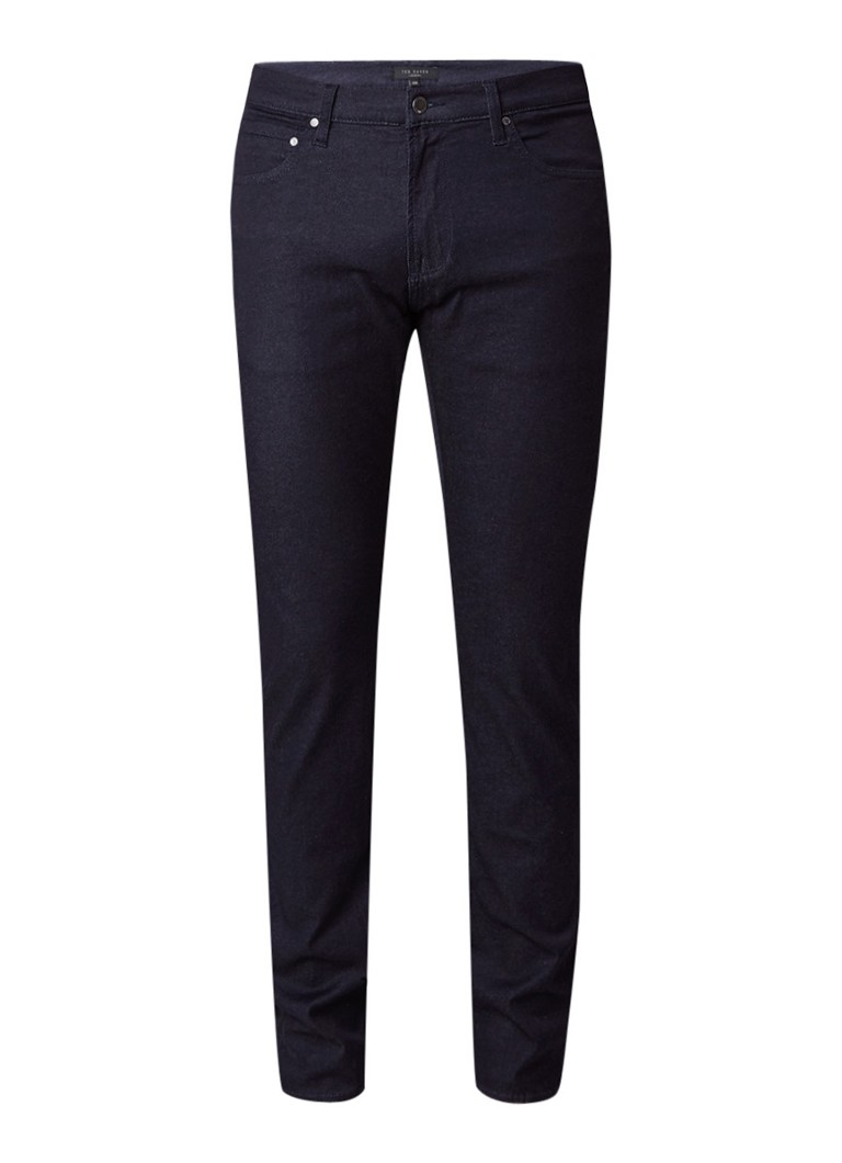 Ted Baker Vindie mid rise straight fit jeans met comfort stretch