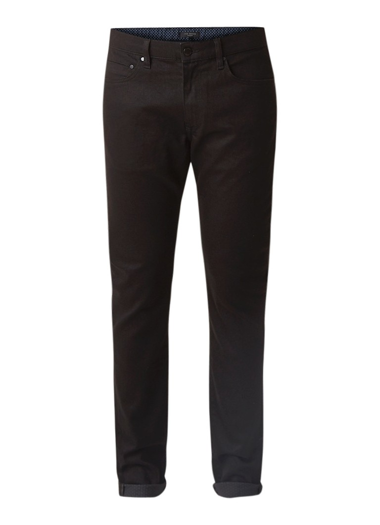 Ted Baker Bunting straight fit jeans met stretch