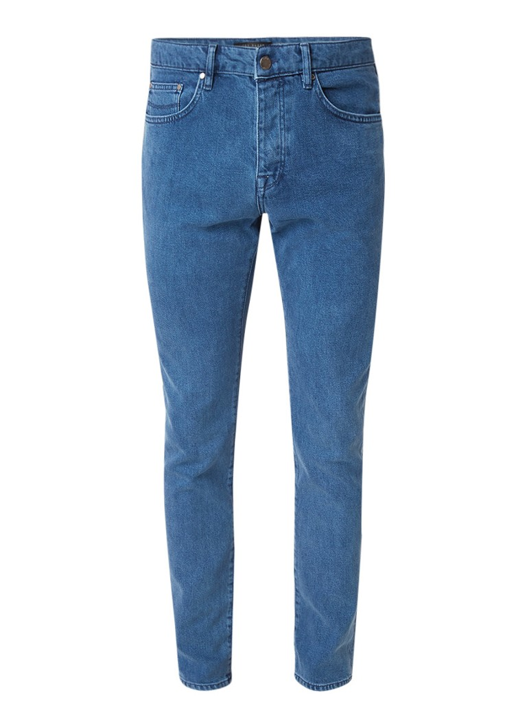 Ted Baker Talma tapered fit jeans met stretch